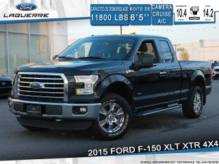 Used 2015 Ford F-150 XLT XTR**4X4*CAMERA*BLUETOOTH*CRUISE*A/C** for sale in Victoriaville, QC