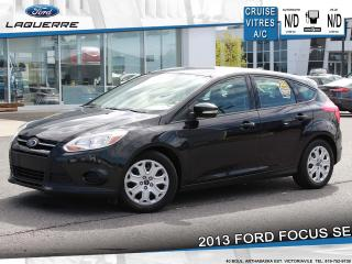 Used 2013 Ford Focus SE**BLUETOOTH*CRUISE*A/C*GR. ELECTRIQUE** for sale in Victoriaville, QC