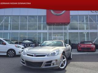 Used 2008 Saturn Sky CONVERTIBLE - AIR CLIMATISÉ - CRUSE CONTROLE - for sale in Donnacona, QC