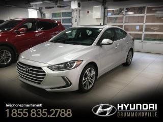 Used 2017 Hyundai Elantra GLS + GARANTIE + TOIT + MAGS + CAMERA !! for sale in Drummondville, QC