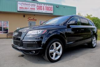 Used 2014 Audi Q7 TDI Progressiv FULLY LOADED !!! CERTIFIED for sale in Bolton, ON