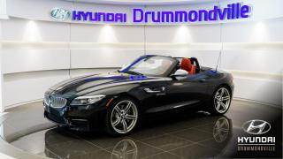 Used 2016 BMW Z4 35IS + M PACK + GARANTIE + NAVI + WOW for sale in Drummondville, QC