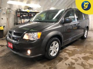 Used 2018 Dodge Grand Caravan Crew Plus * Garmin navigation * Leather faced bucket seats with perforated inserts * Power lift-gate * Secondrow power windows Thirdrow power quarte for sale in Cambridge, ON