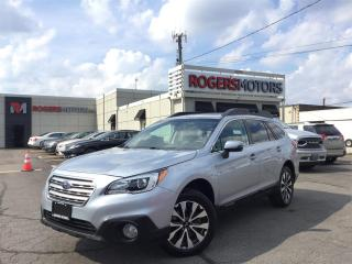 Used 2017 Subaru Outback 2.5i LTD AWD - NAVI - LEATHER - SUNROOF for sale in Oakville, ON