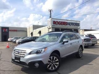 Used 2017 Subaru Outback 2.5i LTD AWD - NAVI - LEATHER - SUNROOF for sale in Oakville, ON