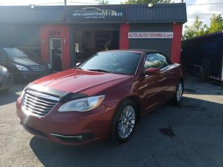 Used 2011 Chrysler 200 2dr Conv Touring for sale in Lemoyne, QC