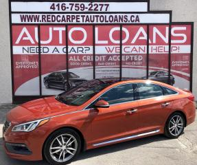 Used 2015 Hyundai Sonata 2.0T Ultimate ULTIMATE-ALL CREDIT APPROVED for sale in Scarborough, ON