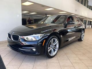 Used 2017 BMW 3 Series 320i xDrive Sportline GPS Cuir Rouge for sale in Pointe-Aux-Trembles, QC