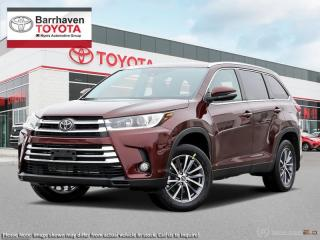 Used 2019 Toyota Highlander XLE AWD  - Navigation -  Sunroof - $293 B/W for sale in Ottawa, ON