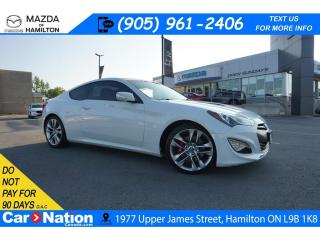 Used 2013 Hyundai Genesis Coupe 3.8 GT | LEATHER | NAV | SUNROOF | for sale in Hamilton, ON