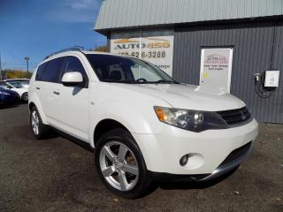 Used 2008 Mitsubishi Outlander ***XLS,AWD,7 PLACES,CUIR,TOIT,MAGS*** for sale in Longueuil, QC