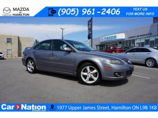 Used 2006 Mazda MAZDA6 GS | AS-TRADED | V6 | A/C | CD PLAYER  | ALLOYS for sale in Hamilton, ON