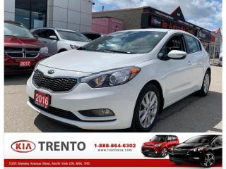 Used 2016 Kia Forte 5dr HB Auto LX+ |ALLOY|HEAT SEATS|ONE OWNER| for sale in North York, ON