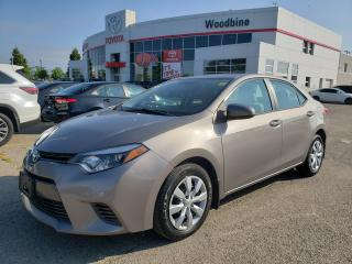 Used 2015 Toyota Corolla for sale in Etobicoke, ON