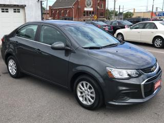 Used 2018 Chevrolet Sonic LT ** BACKUP CAM , AUTOSTART , HTD SEATS  ** for sale in St Catharines, ON