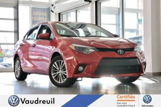 Used 2014 Toyota Corolla LE * TOIT OUVRANT * CUIR for sale in Vaudreuil-Dorion, QC