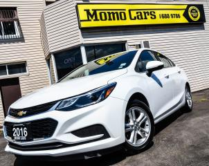 Used 2016 Chevrolet Cruze HEATED SEATS+BACK CAMERA+CAR PLAY for sale in St. Catharines, ON