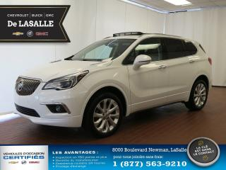 Used 2016 Buick Envision Premium I /TOIT PANORAMIQUE/ AWD for sale in Lasalle, QC