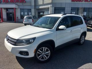 Used 2015 Volkswagen Tiguan Trendline * BANCS CHAUFFANTS *CRUISE * BLUETOOTH * for sale in Mcmasterville, QC