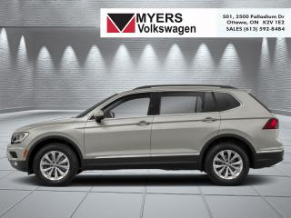 New 2019 Volkswagen Tiguan Comfortline 4MOTION  - Sunroof for sale in Kanata, ON