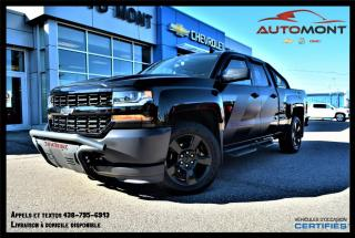 Used 2017 Chevrolet Silverado 1500 SPÉCIAL OPS + ÉDITION BLACK OUT + V8 5.3L for sale in Mont-Laurier, QC