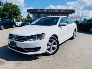 Used 2015 Volkswagen Passat COMFORTLINE|REARVIEW|SUNROOF|LEATHER|WHITEONBLK for sale in Mississauga, ON
