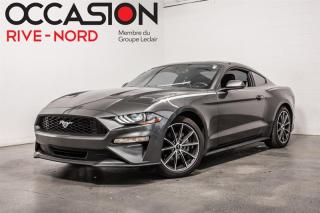 Used 2018 Ford Mustang EcoBoost MAGS.19''+NAVI+SYNC.3 for sale in Boisbriand, QC