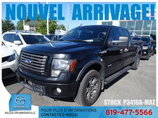 Used 2011 Ford F-150 FX4 CREWCAB 3.5L CUIR COUVREBOITE REGVIT  for sale in Drummondville, QC