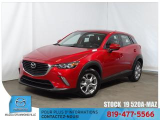 Used 2017 Mazda CX-3 |GS-LUXE|CUIR|TOITOUV|CUIR|SIEGCHAUF| for sale in Drummondville, QC