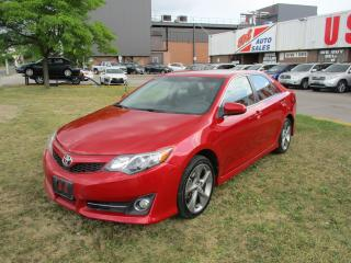 Used 2014 Toyota Camry SE~NAV.~BACK-UP CAM~BLUETOOTH~CERTIFIED!!! for sale in Toronto, ON