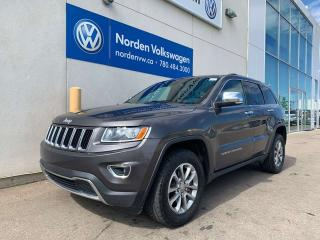 Used 2016 Jeep Grand Cherokee Limited - PANO ROOF, LEATHER, NAVI for sale in Edmonton, AB
