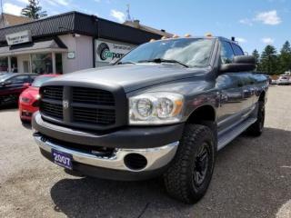 Used 2007 Dodge Ram 2500 5.9L L6 OHV 24V TURBO DIESEL for sale in Bloomingdale, ON