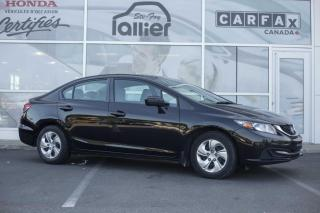 Used 2015 Honda Civic LX ***GARANTIE 10ANS/200 000KM*** for sale in Québec, QC