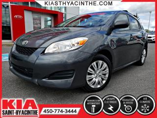 Used 2011 Toyota Matrix ** EN ATTENTE D'APPROBATION ** for sale in St-Hyacinthe, QC