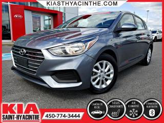 Used 2018 Hyundai Accent GL * SIÈGES CHAUFFANTS / CAMÉRA DE RECUL for sale in St-Hyacinthe, QC