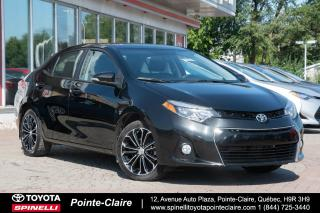 Used 2016 Toyota Corolla ***RESERVE***SPORT 6 VITESSE, MAGS for sale in Pointe-Claire, QC