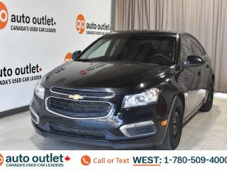 Used 2015 Chevrolet Cruze 1lt, 1.4L I4, Cloth seats, Bluetooth for sale in Edmonton, AB