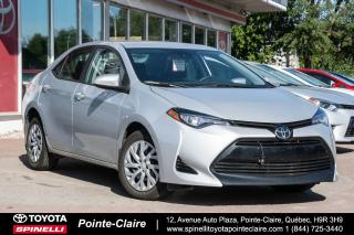 Used 2017 Toyota Corolla LE SIÈGES CHAUFFANT, GROUPE ÉLECTRIQUE for sale in Pointe-Claire, QC