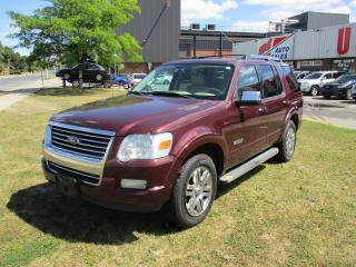 Used 2006 Ford Explorer Limited~LEATHER~DVD~SUNROOF~DRIVES GOOD for sale in Toronto, ON