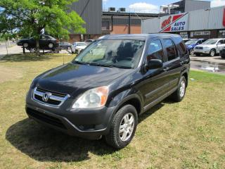 Used 2002 Honda CR-V EX~AWD~REMOTE START~AS-IS~ for sale in Toronto, ON