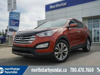 Used 2013 Hyundai Santa Fe LTD LEATHER/PANOROOF/NAV/COOLEDSEATS/HEATEDSTEERING for sale in Edmonton, AB