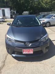 Used 2016 Toyota Corolla LE for sale in Mississauga, ON