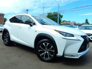 Used 2017 Lexus NX 200T AWD F-SPORT.Red Leather for sale in Kitchener, ON