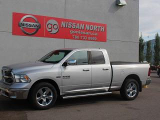 Used 2014 RAM 1500 Big Horn/QUAD CAB/4X4/8.4 INCH SCREEN/HEATED SEATS for sale in Edmonton, AB