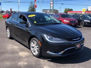 Used 2015 Chrysler 200 BACKUP CAM|HEATED SEATS|AUX for sale in London, ON