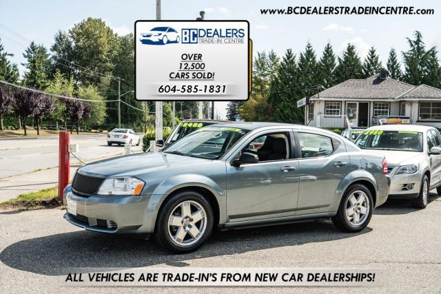 2010 Dodge Avenger SE, Low 138k, Local Car, New Bodystyle, Certified!