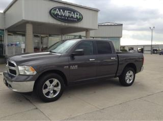 Used 2015 RAM 1500 SLT / CREW CAB / 4X4 / NO PAYMENTS for sale in Tilbury, ON