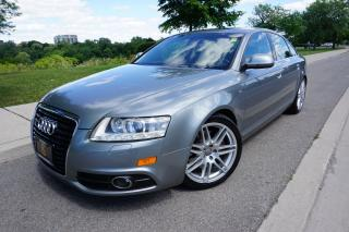 Used 2010 Audi A6 S-LINE / NO ACCIDENTS / LOCALLY OWNED / STUNNING for sale in Etobicoke, ON