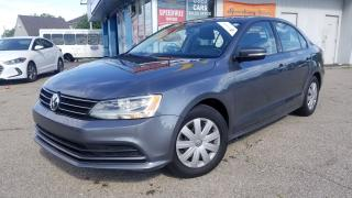 Used 2015 Volkswagen Jetta TRENDLINE+ ONE OWNER, CERTIFIED for sale in Mississauga, ON