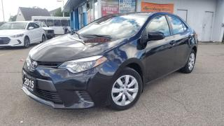Used 2015 Toyota Corolla LE - One Owner, Certified, Camera, Bluetooth for sale in Mississauga, ON